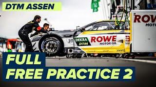 RE-LIVE DTM Free Practice 2 - Assen   DTM 2021