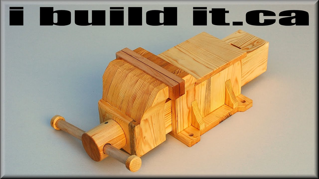 build a wood vice