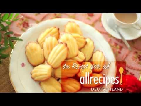 Rezept: Französische Madeleines