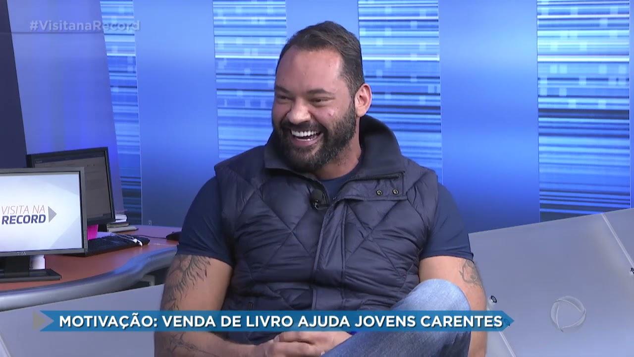 Dary Avanzi foi entrevistado por Rafael Pascuim TV Record Interior para contar sobre seus livros