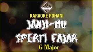 Download Mp3 Janji Mu S'perti Fajar - Nikita - G Major  Karaoke | Minus One | Cover