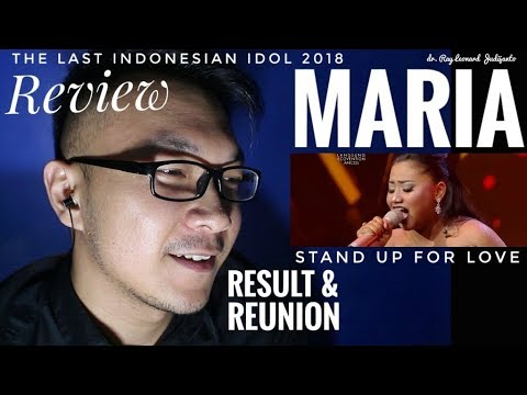 MARIA - STAND UP FOR LOVE Destiny's Child - RESULT & REUNION Indonesian Idol 2018 - REVIEW