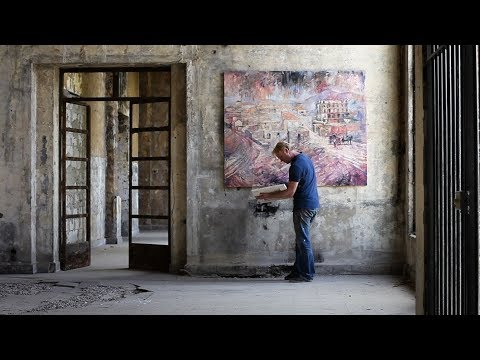 If these walls could talk - Artist revives Lebanon's historic buildings