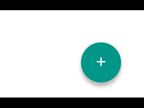 Material design floating action button animation #materialdesign #frontend
