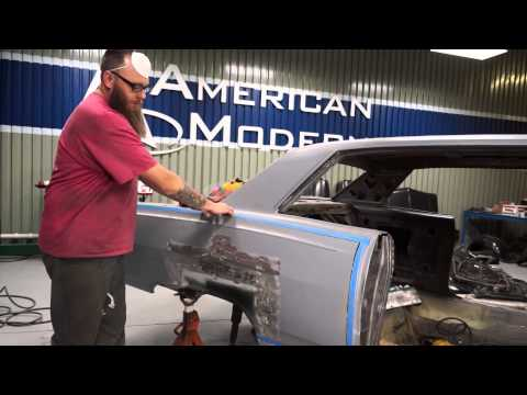 How to install a quarter panel skin on a 65 Chevy Malibu SS – The Build