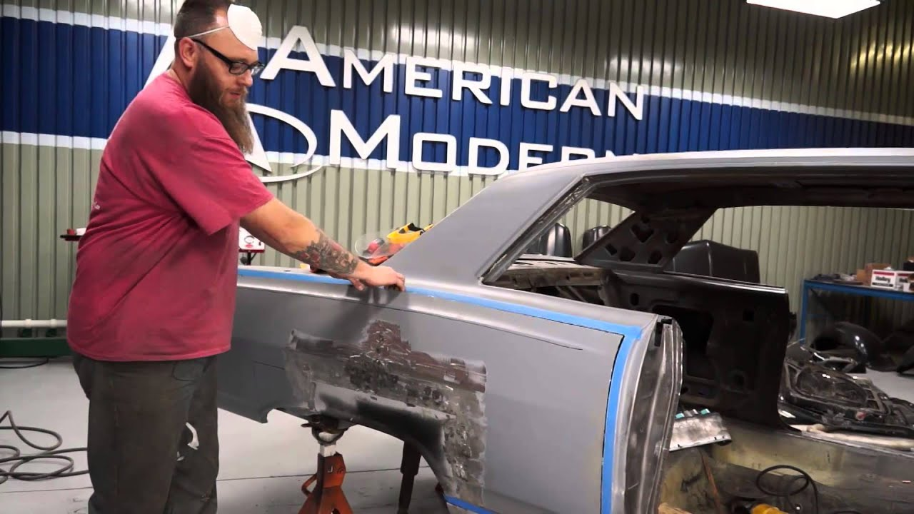 How To Install A Quarter Panel Skin On A 65 Chevy Malibu