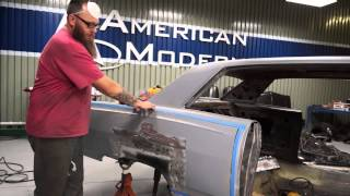 How to install a quarter panel skin on a 65 Chevy Malibu SS - The Build