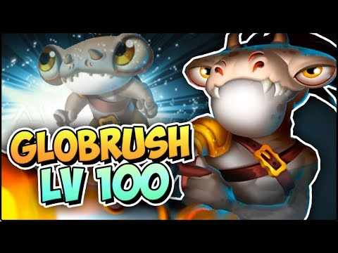 GLOBRUSH (LV 100) COMBATES PVP - Monster Legends Review