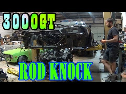 3000gt engine removal rd2 youtube.