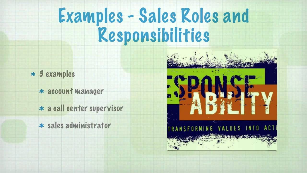 introduction to s roles and responsibilities