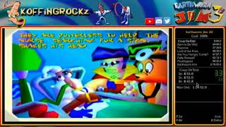 Earthworm Jim 3D 100% in 2:12:44 (WORLD RECORD)