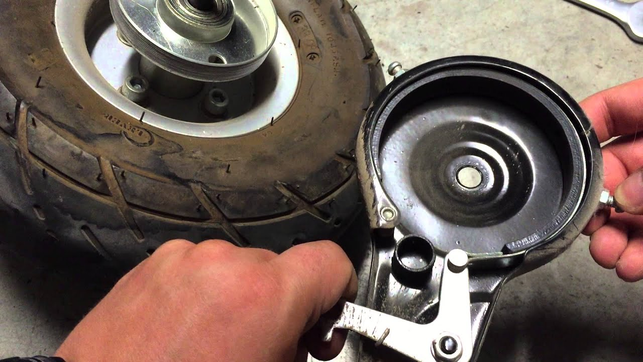 Razor E300 Brake System Youtube