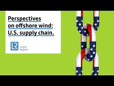 Perspectives on offshore wind: US supply chain