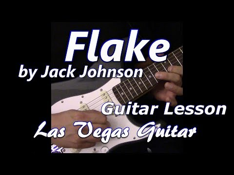Flake by Jack Johnson Guitar Lesson
