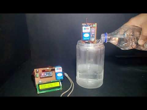 Water Level Indicator Using Arduino and Ultrasonic Sensor