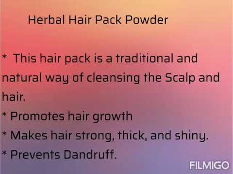 Homemade herbal beauty products