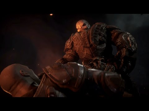 General RAAM kills Kim cutscene in Gears of War AND Gears of War: Ultimate Edition 1080p HD Xbox One