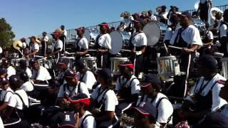 Howard University Showtime Marching Band Thunder Machine Percussion Section Jungle 2010