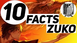 10 Facts About Fire Lord Zuko You Should Know
