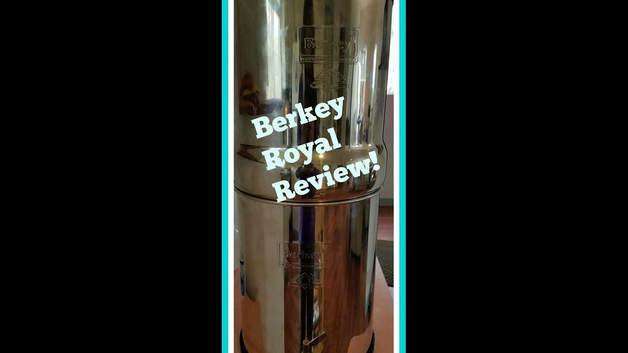Berkey Water Filter Review Royal Youtube