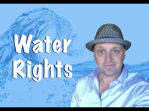 Water Rights - Pass the Real Estate Exam!