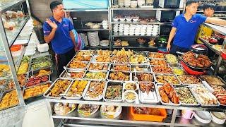 'Cực Chất' Quán Cơm Hơn 60 Món Ngon Ở Sài Gòn   Khách Xếp Hàng Đông Nghẹt