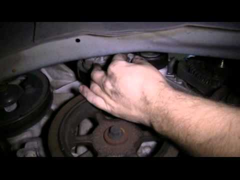 How To Replace The Serpentine Belt Tensioner And Idler Pulley In A 2006 Town And Country