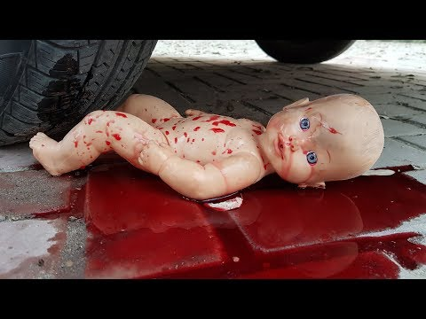 Crushing Crunchy & Soft Things By Car! Experiments Baby (Toys) vs Car
