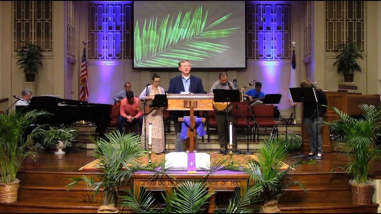 Palm Sunday Service at First Baptist Thomson, Streaming License 201531172