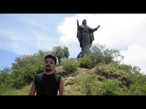 アキーラさん訪問!東ティモール・ディリ市・クリストレイ!Cristo Rei in Dili in East Timor