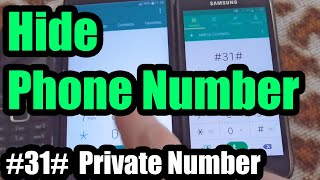How to Hide your Phone Number (Private number 31 Europe)