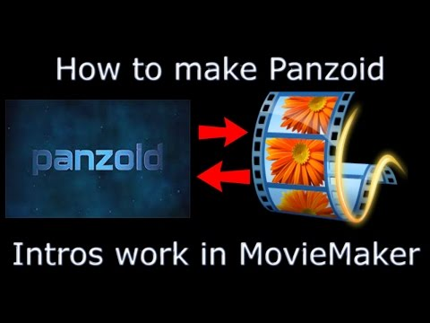 Tutorial: Why Won't Panzoid Intro's Work In MovieMaker - Explained