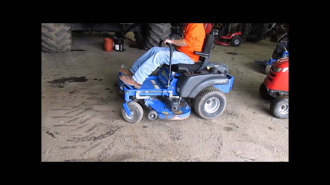 2006 Dixon Ram ZTR riding lawn mower for sale   sold at auction October 1,  2014