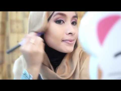Makeup and hijab tutorial for Idul Fitri