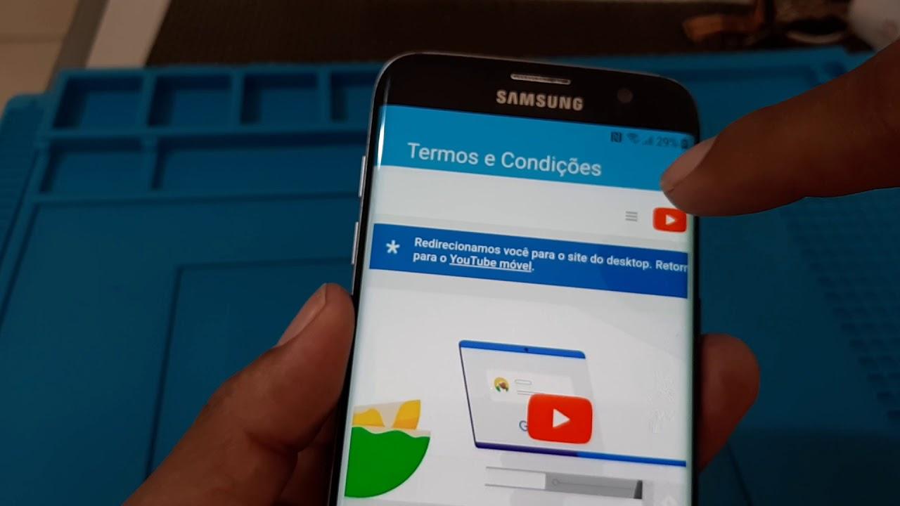 Eliminar conta Google Galaxy s7 Edge G935F sem pc Android 8 0 8 1