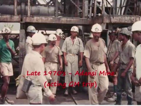 Sights of Ashanti Goldfield Corporation 1960's to 1980's