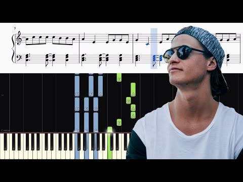 Kygo - Stranger Things ft. OneRepublic - Piano Tutorial