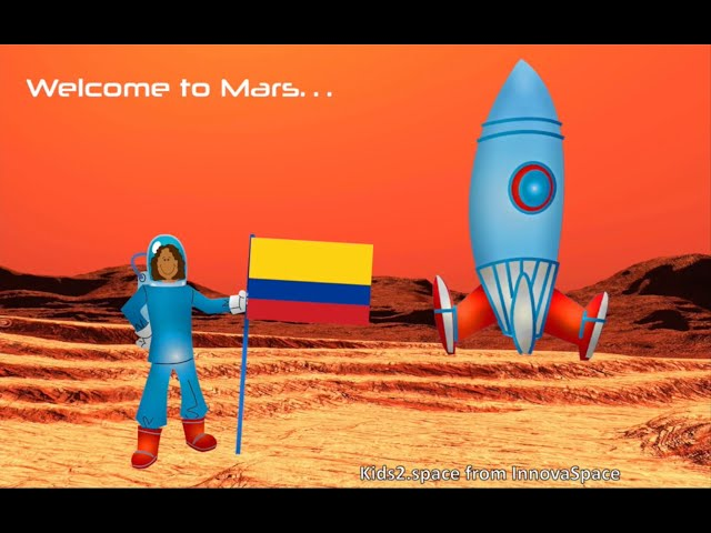 ENG Kids2Mars | Colombia - Where would we get food?