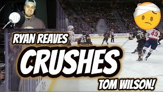 REACTION to Ryan Reaves CRUSHING Tom Wilson! | Auddie James