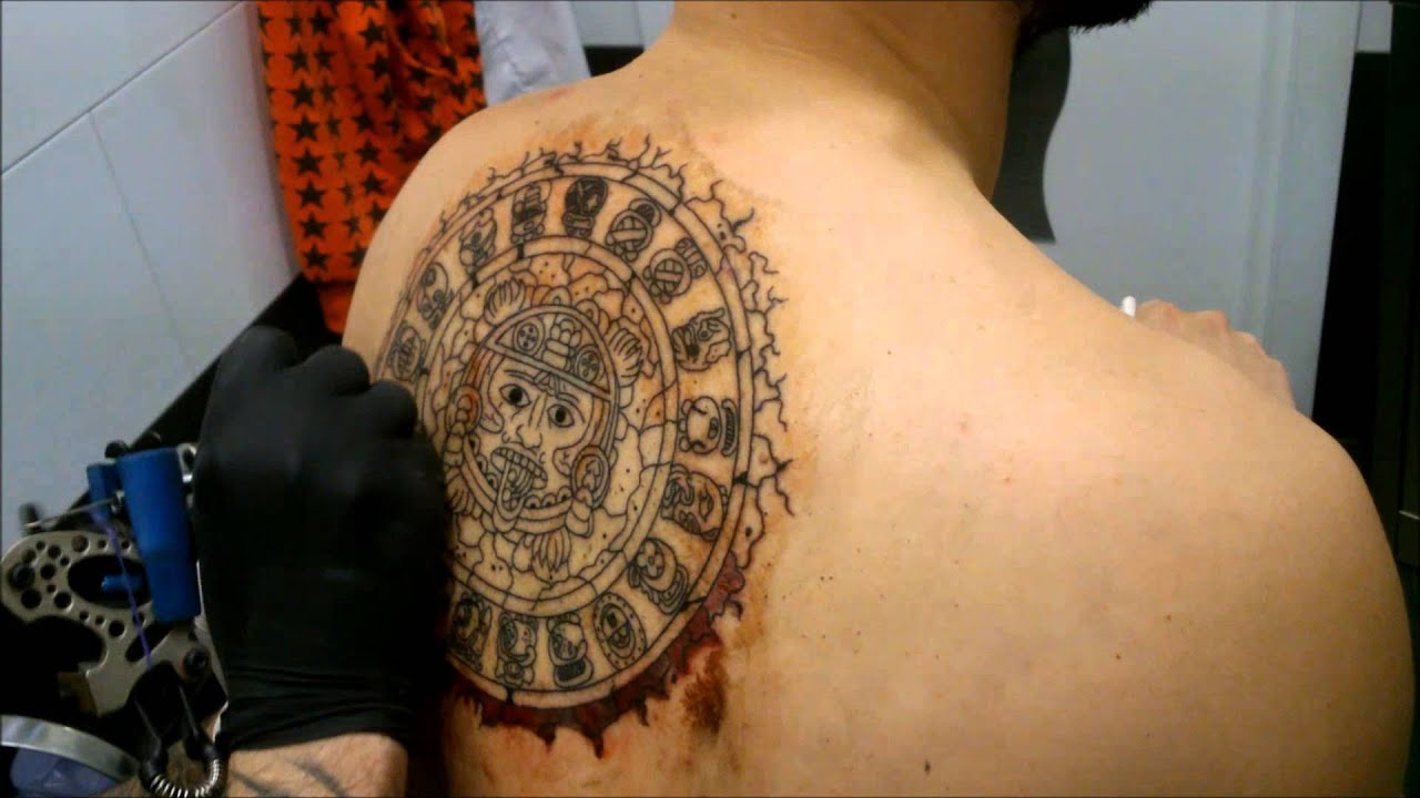 Sol Azteca Tatuaje tatuaje maya·azteca - youtube