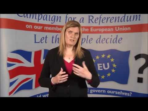 Nikki Sinclaire says Join the Campaign for a Referendum