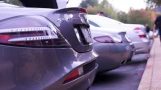 Mercedes Benz SLR McLaren | Exhaust Sound comparison SLR vs SLS vs S65 | Exotic Supercar