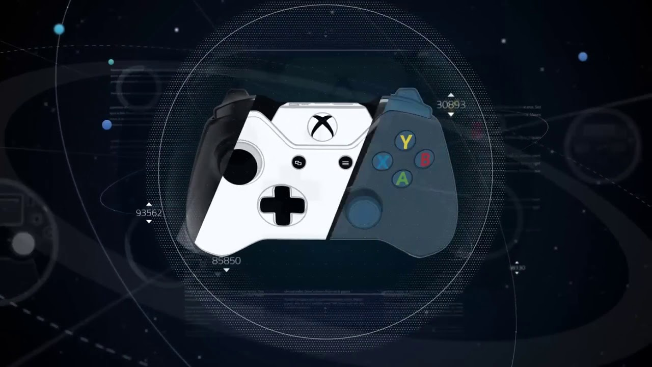 ps4 xbox one controller template preview by game art r youtube