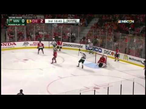 Chicago Blackhawks vs Minnesota Wild. PlayOff NHL 2015