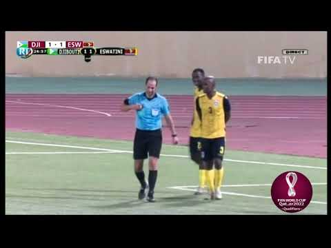 Djibouti v Eswatini - FIFA World Cup Qatar 2022™ qualifier