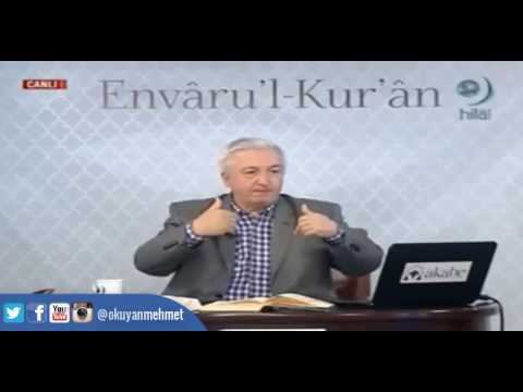 """""""�t""""konusunu konuşacağız çok ciddi bir konu. - Prof.Dr. Mehmet Okuyan"""