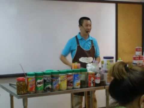 สอนทำกาแฟโบราณ ขนมปังสังขยา นมสด