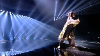 2012 Eurovision Final Winner - Sweden - Loreen - Euphoria