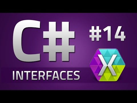 14. How to program in C# - INTERFACES - Tutorial