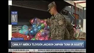 CANAL N Y EJERCITO LANZAN CAMPAÑA DONA TU JUGUETE - TV CANAL N 04 DIC 17